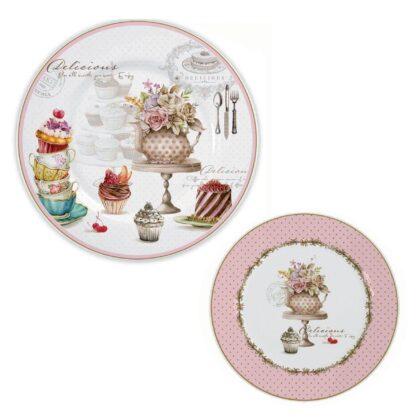 Royal Elisabeth Toscana porcelanski set za dezert