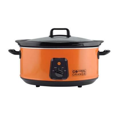 Coral aparat za sporo kuvanje 6,5 l 350 W - Super Krčko SC-320 Orange