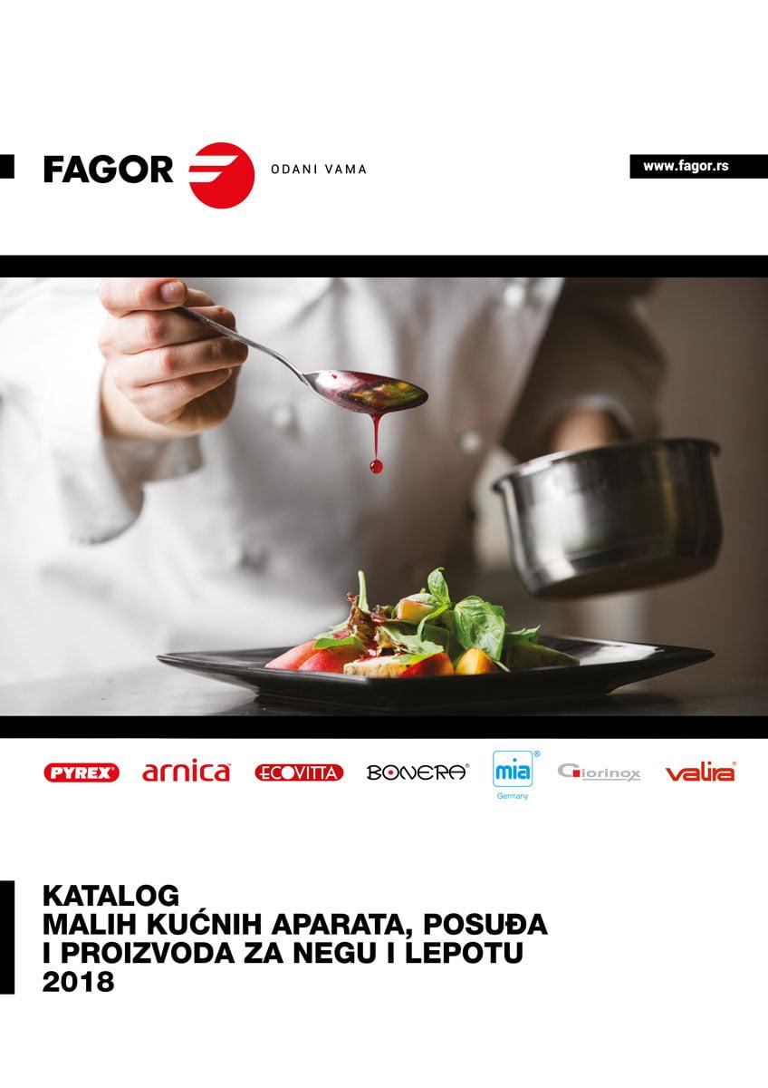 Katalog Fagor, Pyrex, Arnica, Ecovitta, Bonera, Mia, Giorinox i Valira proizvoda za 2018.