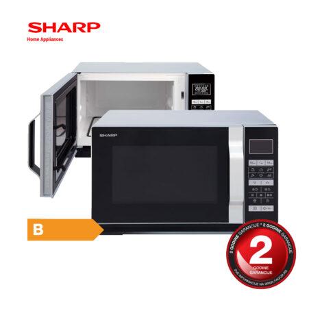 SHARP 2 u 1 mikrotalasna pećnica - R-660S
